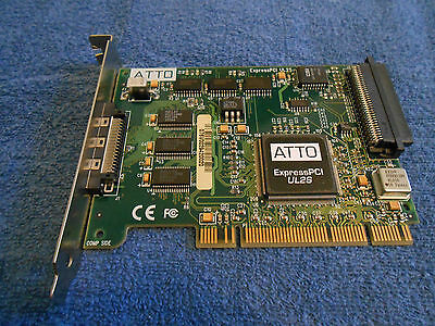 Avid Technology 0030 03033 01 Ul2s Express Pci Scsi Card  Used