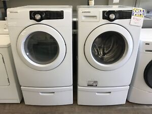 Samsung washer dryer with pedestals!