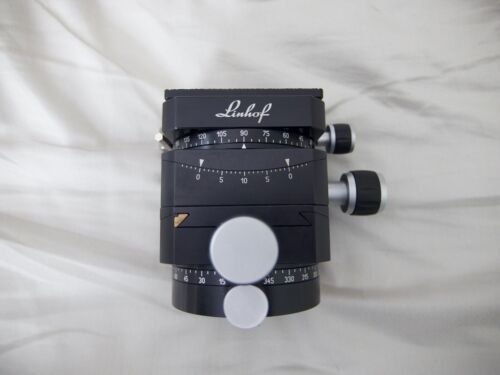 Linhof 3D Micro Leveling Head Boxed and in Excellent Condition