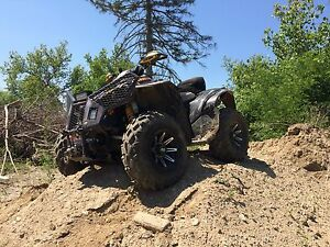 2009 CAN AM RENEGADE 800 X & 2003 RAM 2500 WITH PLOW