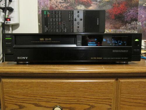 Sony SLV-555UC DA Pro 4Head HiFi VCR VHS with remote
