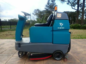 TENNANT T7 H2O ECO ONLY 210 HOURS ELECTRIC RIDE ON SCRUBBER VACCUM NILFISK Austral Liverpool Area Preview