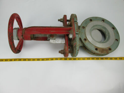 8 Rovalve 20 Descrip A Size 4 Knife Gate Flow Valve A18866N G-20-4 CS