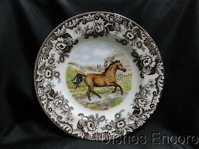 "Spode Woodland American Quarter Horse, England: Dinner Plate 10 3/4"", NEW w/ Box"
