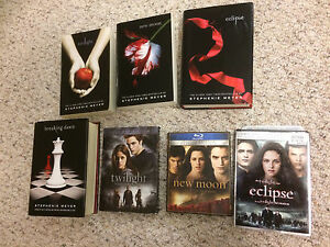 Twilight books and DVD