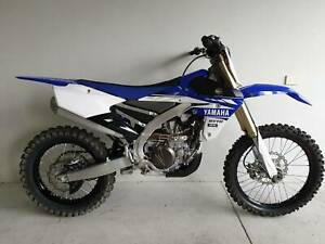 2017 Yamaha YZ 450 FX (Cross Country Model) Dirt Bike
