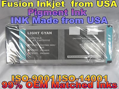 - NEW INK Compatible Cartridges Epson Stylus Pro 4880 T606500 220ml Light Cyan lc