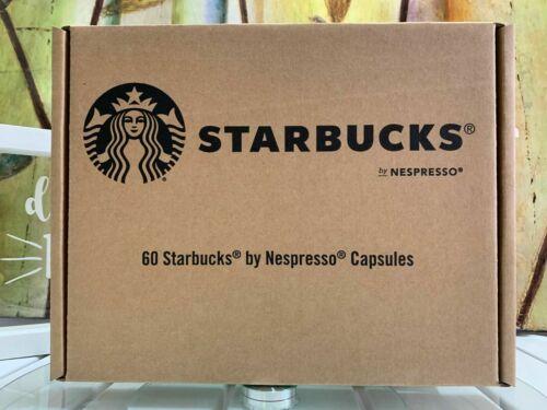 Starbucks by Nespresso 60 capsules Espresso Case Blonde Exp 9/21+