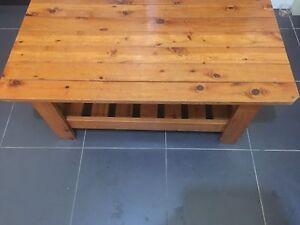 Solid wood coffee table for $50 Fairfield Fairfield Area Preview