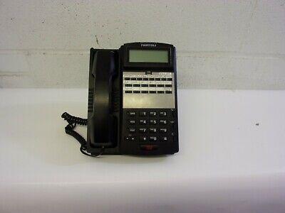 Iwatsu Ix-12ktd-3 12 Button Display Multi-line Telephone Black