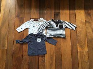 Lot de 6 chandail de marque Zara Baby, de taille 3-6 mois