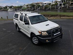 TOYOTA HILUX 4X4 TURBO DIESEL Manual dual cab + RWC Hope Island Gold Coast North Preview