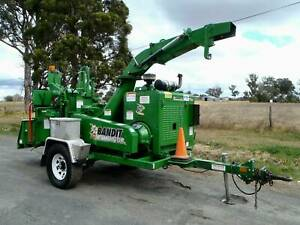 "Bandit 990XP HD Intimidator 12"" Commercial Diesel Wood Chipper Austral Liverpool Area Preview"