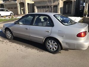 2001 TOYOTA Corolla LE (As-is Sale)