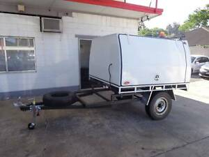 Trailer with Hybrid Trademate workstation Sylvania Sutherland Area Preview