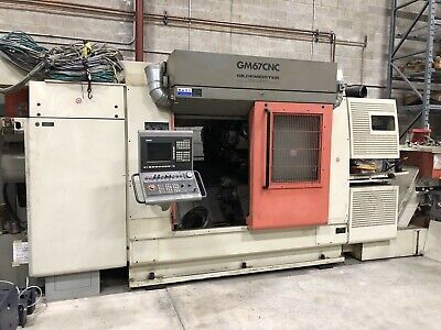 Gildemeister Gm67 Cnc Lathe Machine 15-axis 3-spindle Live Tooling Siemens