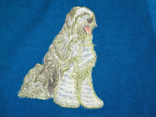 Embroidered Ladies Fleece Jacket - Old English Sheepdog DTL009 Sizes S - XXL