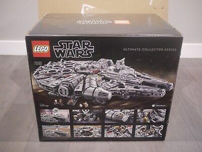 Brand New LEGO Star Wars Millennium Falcon 75192 Building Kit (7541 Pieces)