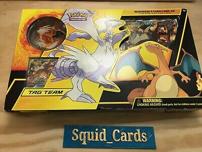 Pokemon TCG: Reshiram & Charizard-GX Figure Collection box