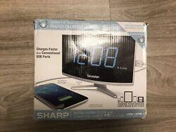Alarm Clock Large Numbers Jumbo LED Display Snooze Digital Table Desk