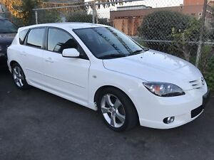 2005 Mazda3 Sport 80,000 Kms No Accidents