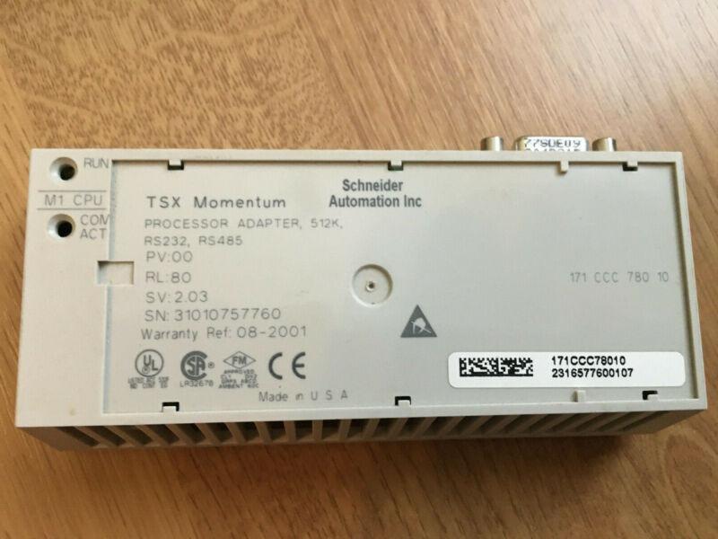 SCHNEIDER ELECTRIC Modicon 171-CCC-780-10 Processor/Controller TSX Momentum