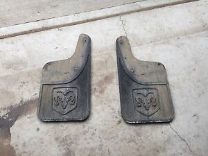 Dodge Ram 1500 2500 3500 Rear Mud Flaps