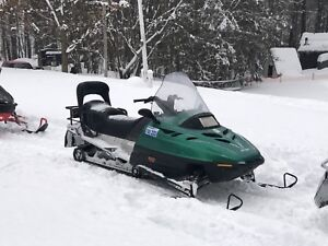 1998 skidoo touring 500 fan cooled
