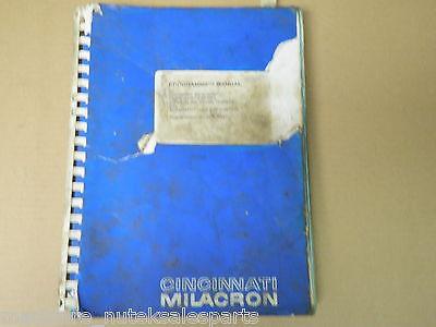 Cincinnati Milacron Programmers Manual Sabre Arrow Series91202938