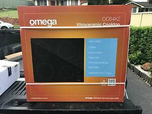 Omega Vitroceramic Cooktop OC64KZ Raby Campbelltown Area Preview