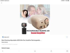 Sound amplifier hearing aid assistance