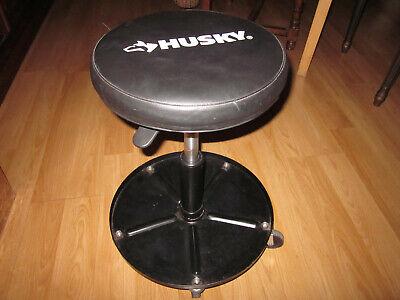 Husky Professional Mechanics Rolling Seat  Roller Chair Heavy Duty Shop Stool