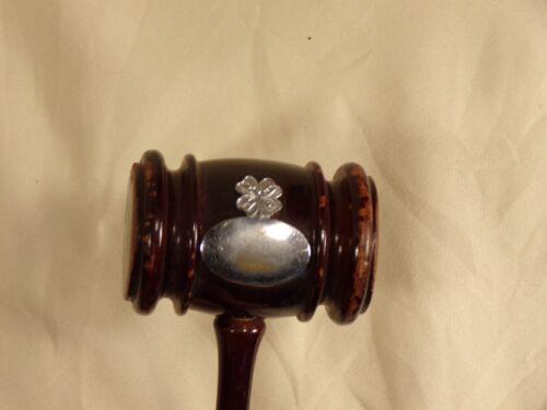 Vintage 4-H Club Auction Award Judge Gavel