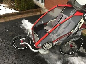 Chariot Thule CX 2 double
