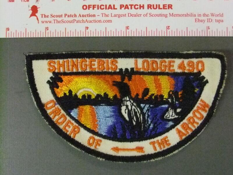 Boy Scout OA 490 Shingebis flap 7634JJ