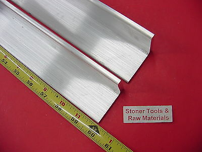 2 Pieces 2x 2x 14 Aluminum 6061 Angle Bar 60 Long T6 Extruded Mill Stock