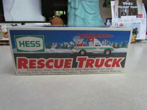 1994 Hess Rescue Truck - Mint in the Box!