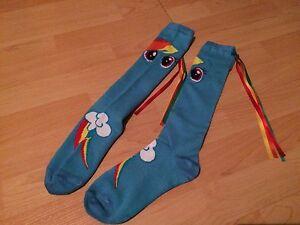 Various colourful socks