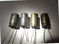5 Elna RFS silmic II audio condensador 10uf 25v 6,3x11 20/% 85 ° C rm3 2 PCs