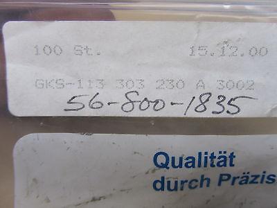 Ingun Gks-113-303-230 Contact Pin Test Probe Steel 100bag