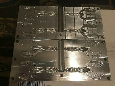 Molds for making soft plastic bait Mad Wag replica
