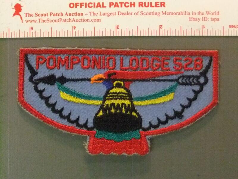 Boy Scout OA 528 Pomponio flap 7217JJ