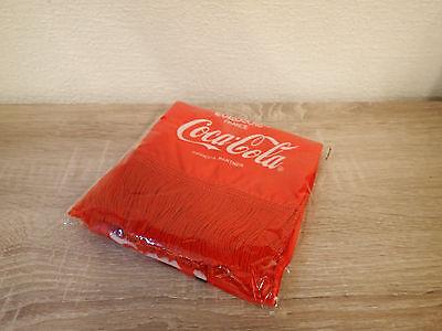 Coca Cola Schal NEU OVP FIFA 2016 Euro Cup Rot