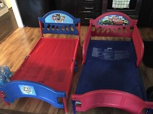 Two kids beds and mattresses included