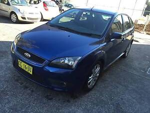 AUTO HATCH FOCUS ZETEC WITH LEATHER LONG REGO Thornleigh Hornsby Area Preview