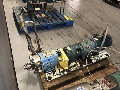 2017 Spx 30-u1 Positive Displacement Rotary Pump 2hp 208-230460v 60hz 3ph