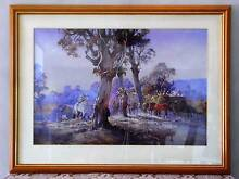 """Painting by d'Arcy Doyle """"Break of Day""""  Print in timber frame Greenbank Logan Area Preview"""