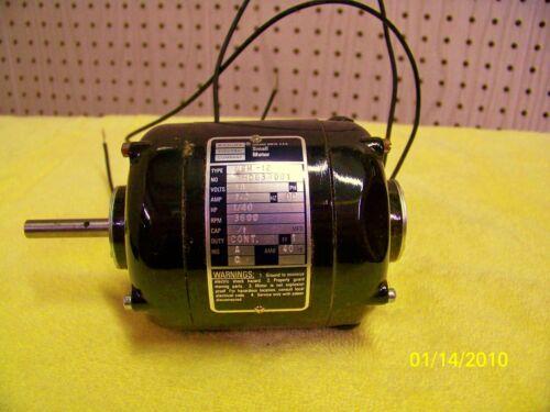 DC Motor- 1/40 HP, 3000 RPM, 48V, 3 Amps, ODP