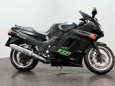 1992 J Kawasaki ZZR1100, 40k miles, ZX1100, Spares or Repairs, 99p No Reserve NR