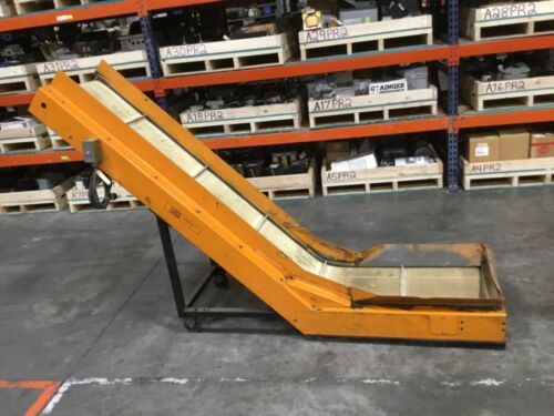 LaRos Inclined Cleated Belt Conveyor Tested #21BK